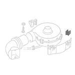Rubber mount fresh air ventilator