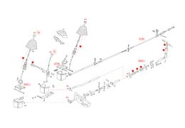 Koppeling en bussen schakelstang, Type 25 (XView 4-16)