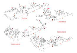 Originele uitlaten Type 25 1.6D CS, 1.6TD JX, 1.7D KY (XView 5-36)