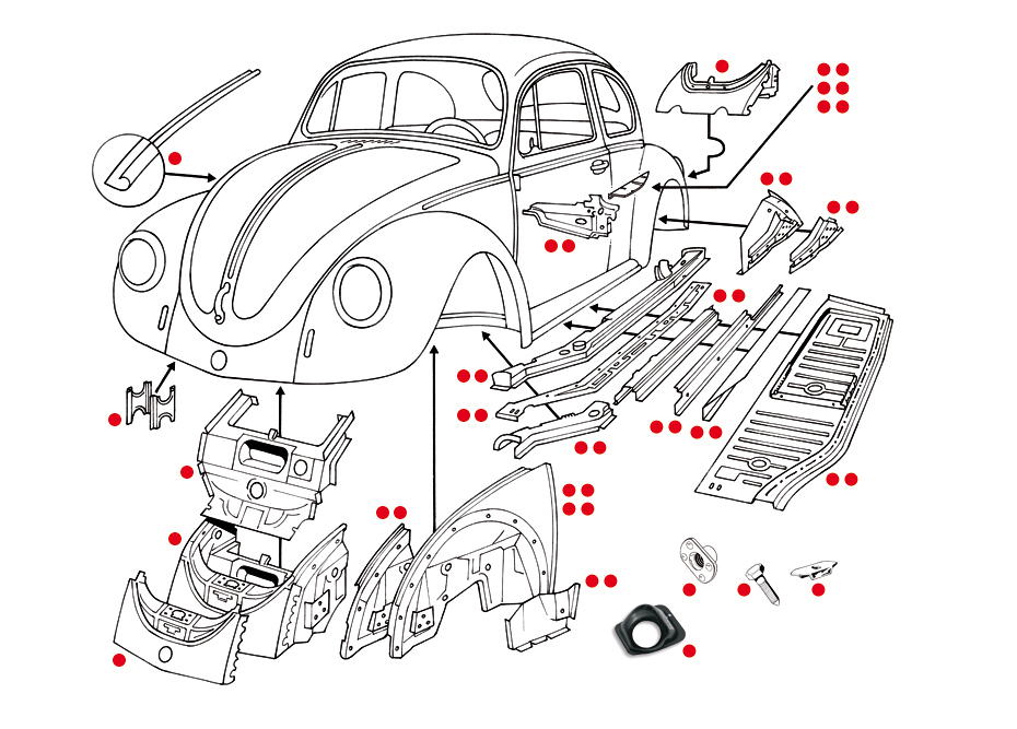 74 Karmann Ghia Parts on 1973 Karmann Ghia Wiring Diagram