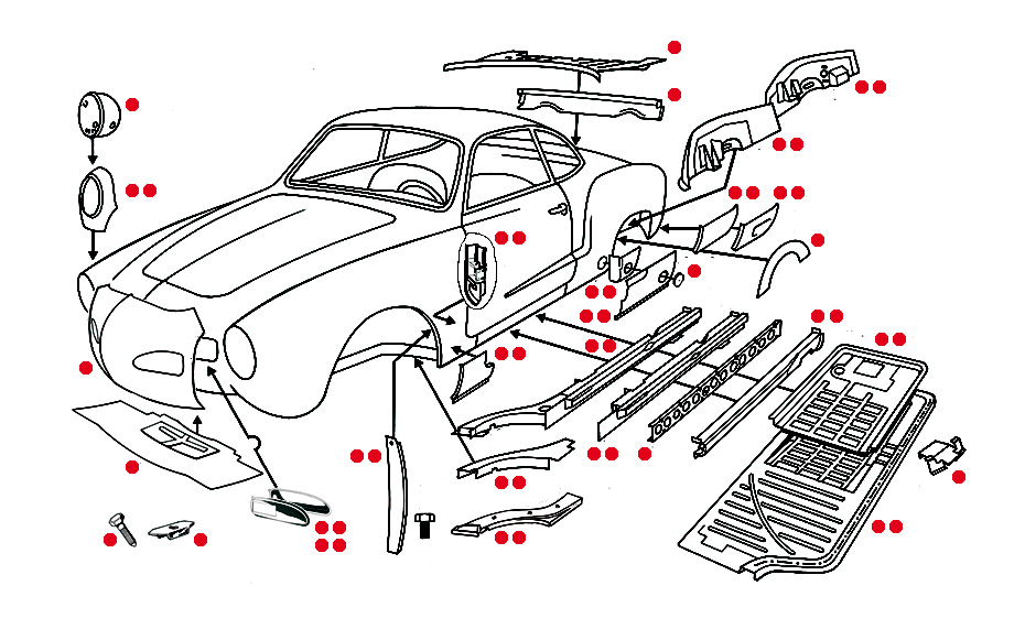 Bodywork Karmann Ghia Xv Xview 1 04 on ignition wiring diagram