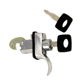 0429-200 Rear deck lid lock with keys, Attached with 3 bolts, One pièce