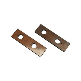 0385-320 Phenolic guide plate under side springbar, as pair