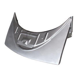 0136-100 Rear valance H, without exhaust holes