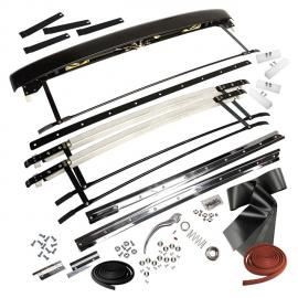 0385-905 Complete sunroof assembly with rails