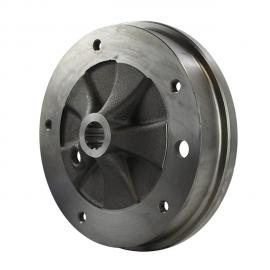 1285 Brake drum rear, 5 lug