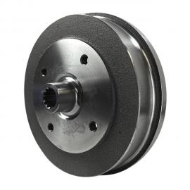 1281 Brake drum rear, 4 lug