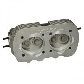 1721 New cylinder head, dual port, with valves, Combustionchamber: 51ml (3.11 CI)